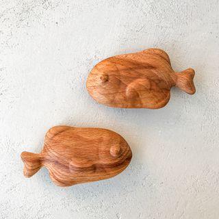 Wood rattle Fish