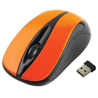 GEMBIRD / Wireless mouse MUSW-325, 2 buttons + 1 wheel-button, optical, orange