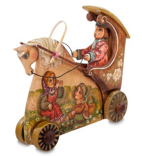 """Figurine wooden """"Carriage"""""""