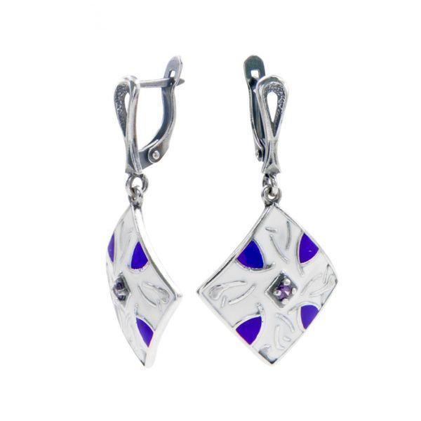 Earrings 30213 'motif de Losange'