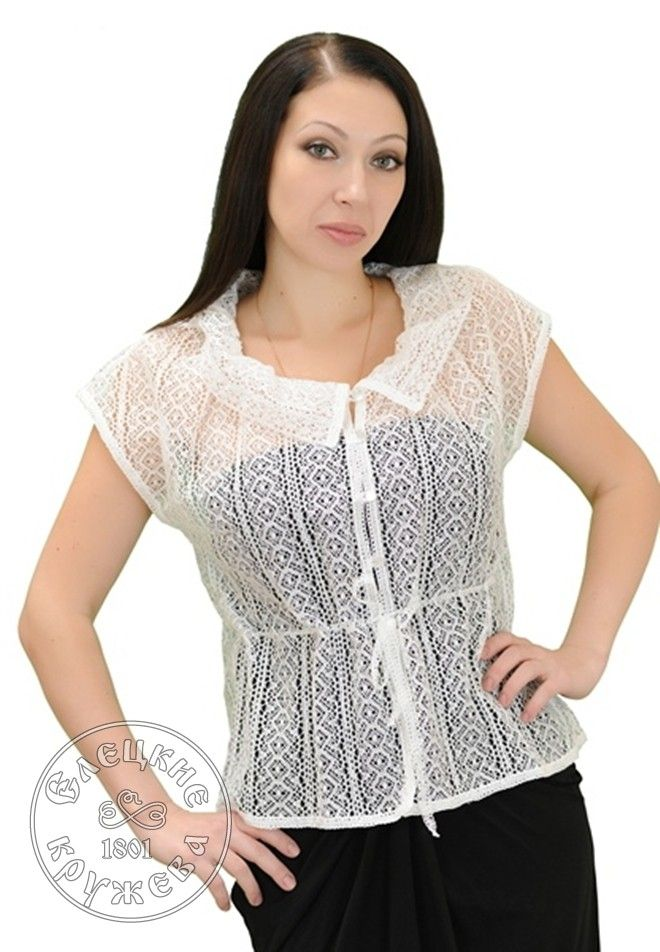 Yelets lace / Women's lace blouse С483