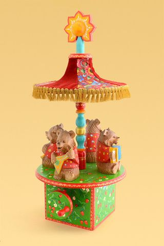 Carousel Bears - wooden toy