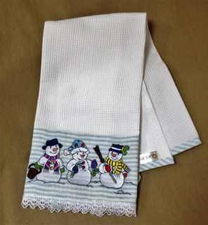 Kitchen linen towel
