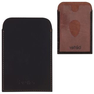 Cover-case BEFLER Classic, genuine leather for travel documents and maps, brown