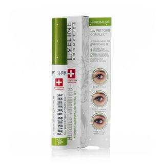 Active serum for eyelashes series 3 in 1 advance volumiere, Eveline, 10ml