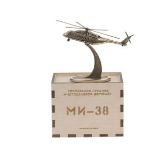 Model of the MI-38 on the stand