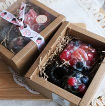 French dessert - handmade soap set
