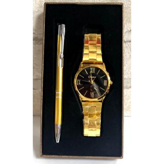 Gift set with handle and watch