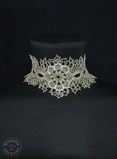 Jewelry-choker lace