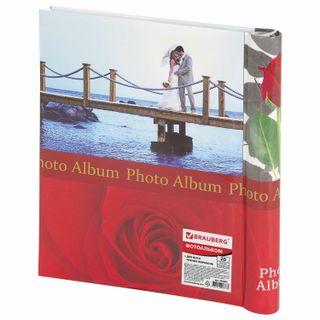 Photo album BRAUBERG 20 magnetic sheets, 23х28 cm,
