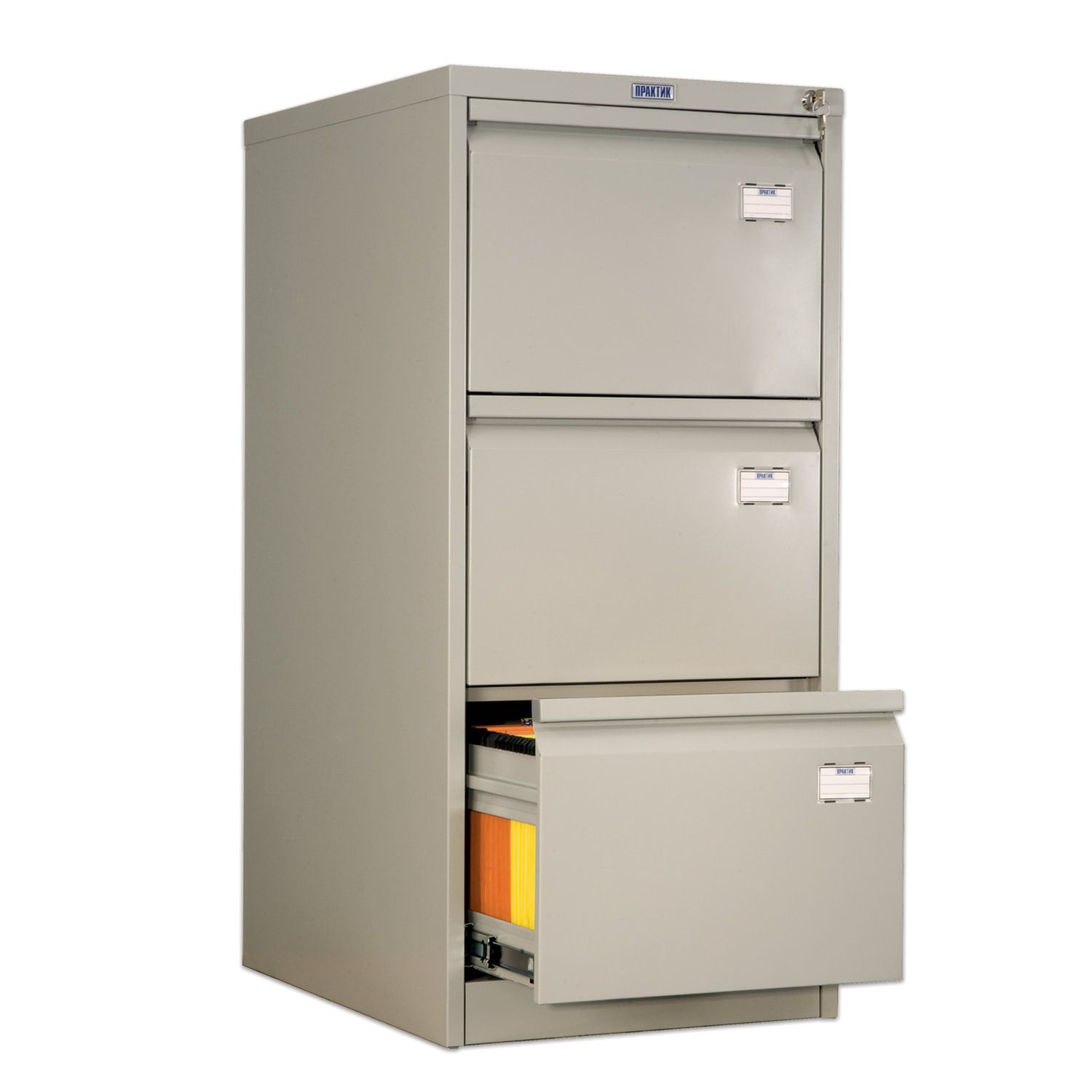 AFC-03 card cabinet, 1020 x467 x630 mm, 3 boxes, for 165 hanging folders, Foolscap or A4 folder format (FREE folders)