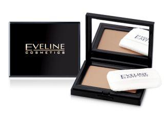 Velvety compact powder No. 14, Eveline
