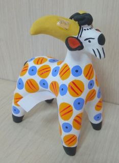 Dymkovo clay toy Goat