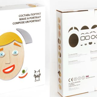 "Board game ""Make a portrait"""