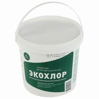 Disinfectant 1 kg ECOCHLOR, tablets 300 pcs.