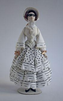 Pendant doll based on Bakst