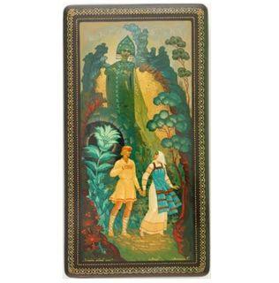"""Kholui / Casket """"Mistress of the Copper Mountain"""" 15х8х4.5 cm"""