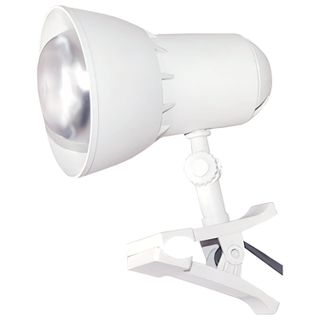 """TransVit / Table lamp """"Nadezhda-1 Mini"""", on a clothespin, incandescent / fluorescent / LED lamp, up to 40 W, white, E27"""