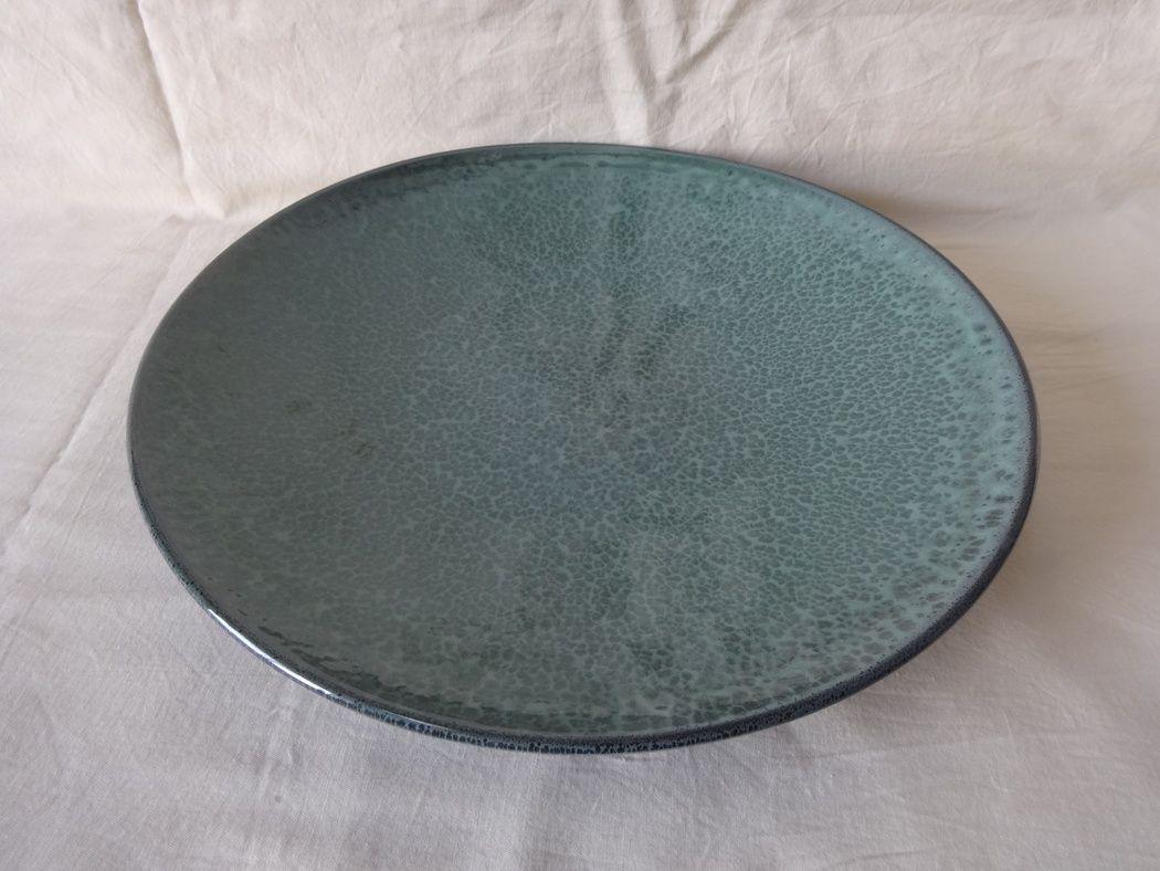 "Horex / Plate ""Verde Notte"" rotonda di lusso 3 pcs."