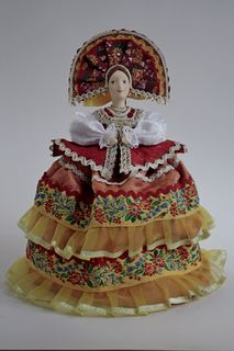 Souvenir doll for a teapot - Cassini