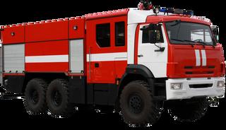 Fire truck tanker AC 7 70 KamAZ-43118