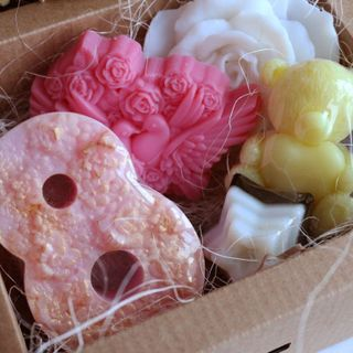 March 8 - small handmade gift soap set