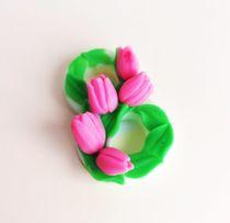 Handmade soap March 8 Tulips