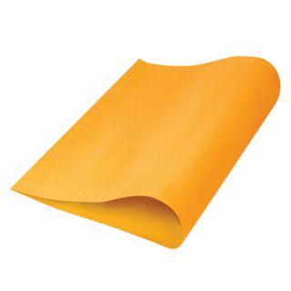 Porous rubber (tamilan) for creativity, ORANGE, 50x70 cm, 1 mm, TREASURE ISLAND