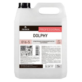 5 litre plumbing cleaning, PRO-BRITE DOLPHY, acid, concentrate, gel