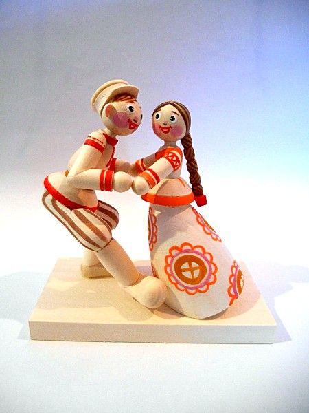 """Tver souvenirs / """"Quadrille"""" doll"""