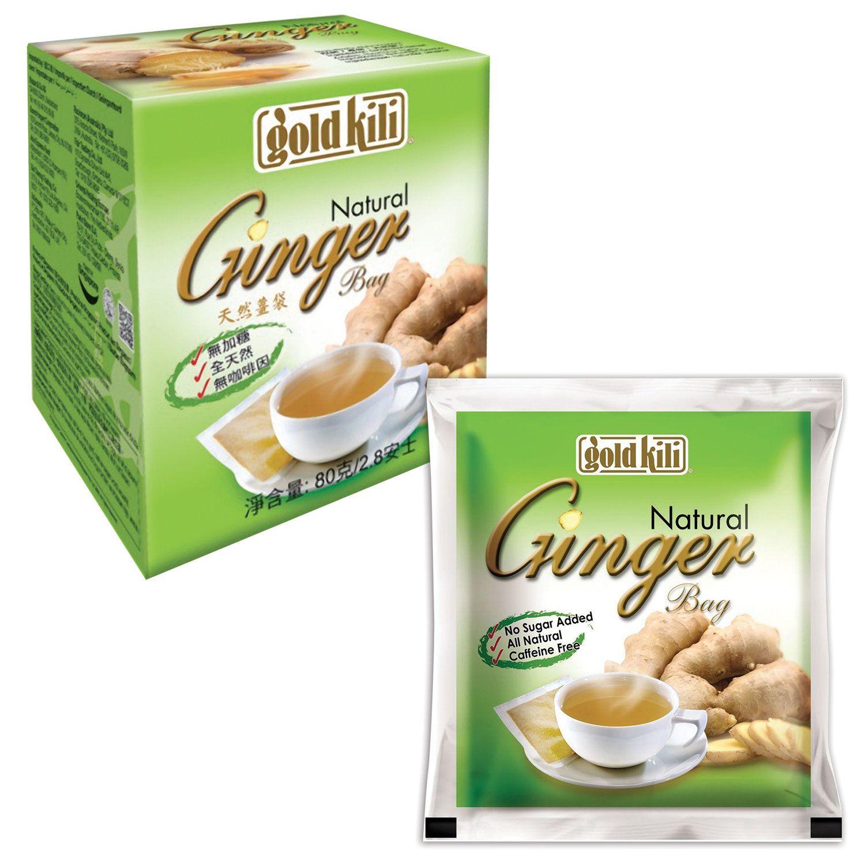 "GOLD KILI / Ginger natural ""Ginger Natural"", 20 sachets of 4 g"