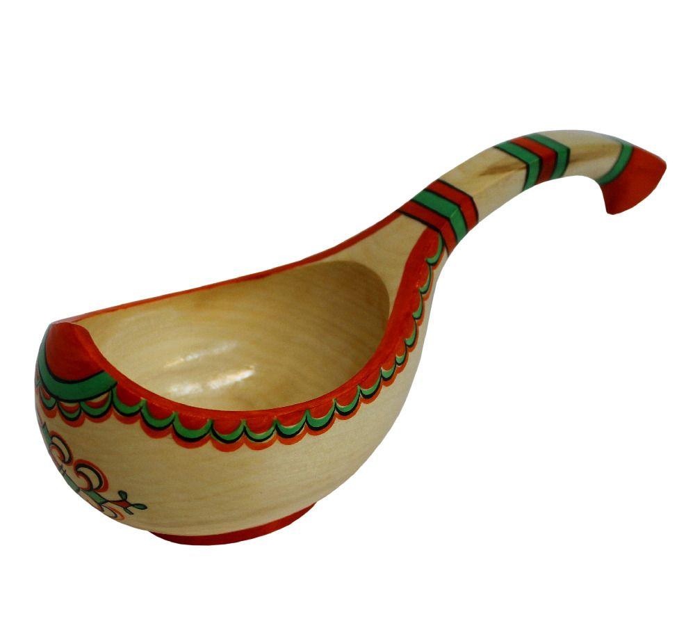 "Bucket wooden ""Pizhemskaya painting"""