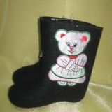 Boots with applique