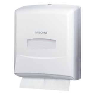 LIMA / PROFESSIONAL Towel Dispenser (System H3), ZZ (V), white, ABS plastic
