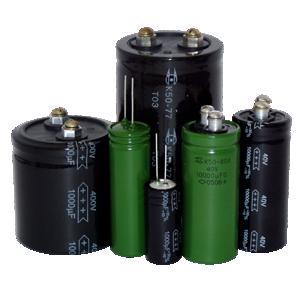 Oxidized-electrolytic aluminum capacitors K50-76