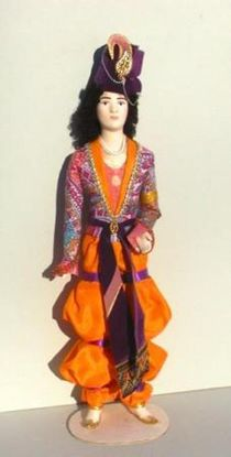Doll gift. Indian youth. Theatre. coast. at the ESC. Leon Bakst.