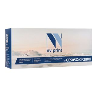 Laser cartridge NV PRINT (NV-CF280X / CE505X) for HP LaserJet M401 / M425 / P2055, yield 6900 pages.