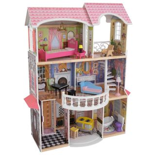 """Wooden doll house for Barbie """"Magnolia"""""""