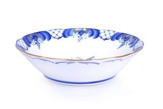 Dulevo porcelain / Salad bowl 1200 ml Rose Gold