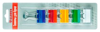 The holders 32 mm, 5 pieces assorted color, blister