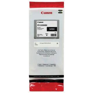 Inkjet cartridge CANON (PFI-320MBk) for imagePROGRAF TM-200/205/300/305, matte black, 300 ml, original