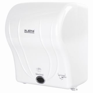 LAIMA / Dispenser for towels in rolls LAIMA PROFESSIONAL ORIGINAL (System H1) TOUCH, white, ABS-plastic