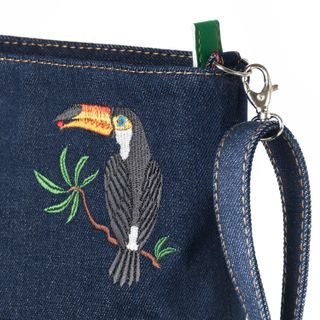 "Denim bag ""Tropicana"""
