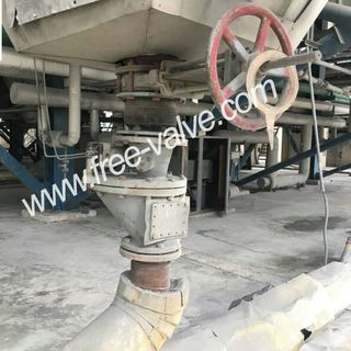Anti wear fully ceramic lined Knife gate valve ,Ceramic Knife Gate Valve for Coal Washing Plant