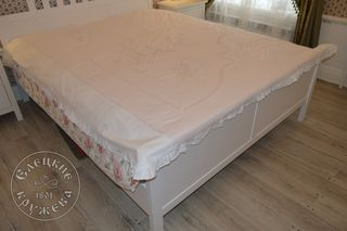Duvet cover with ruffle С901