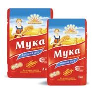 "Wheat flour (bakery and general purpose) of the trademark ""Petrovsky Niva"""