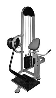 Glute machine (simulator for buttocks), block of loads 70 kg