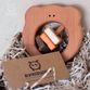 """Bug / Wooden rattle """"Brown Bear"""" - view 1"""