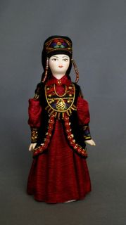 Doll gift. Women's costume. Khakassia