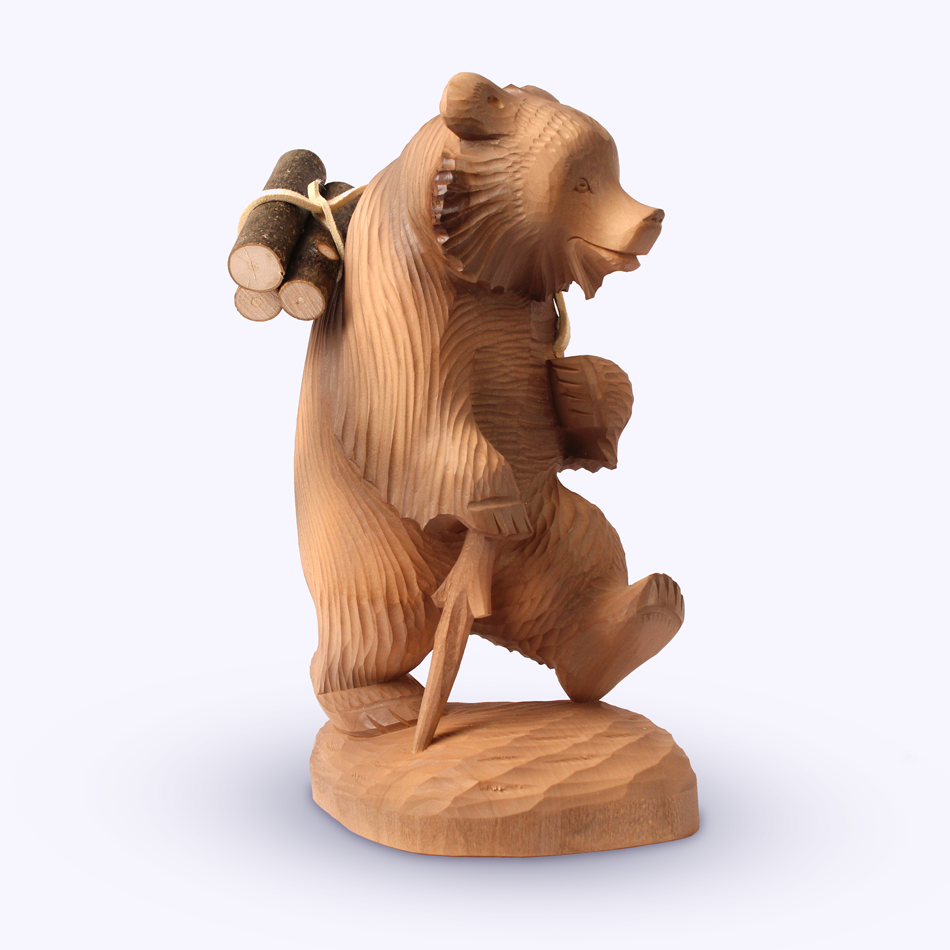 "Bogorodskaya toy / Wooden souvenir ""Caring"""